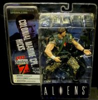 Movie Maniacs Series 7: Aliens - Colonial Marine Cpl. Hicks - Action Figure Sealed in Packet!